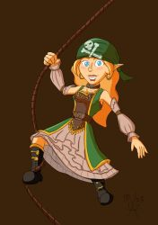 Link the Pirate Wench by Xaran-Alamas