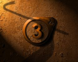 Half-Life 3 logo wallpaper by EspionageDB7