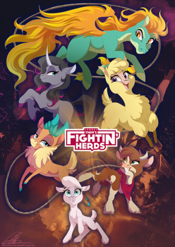 Them's Fightin' Herds by dennyvixen