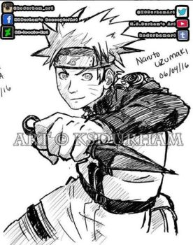 Naruto Warm up Sketch by GZ-Iconic-Ent