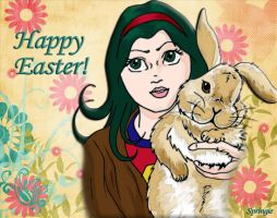 Happy Easter 2014 by springie