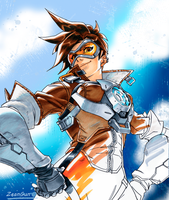 Tracer - Overwatch by ZeanGunEc