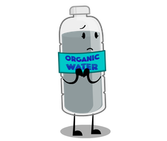 Commission #14: Cement Water Bottle (Funny XD) by ObjectDimensionOffic