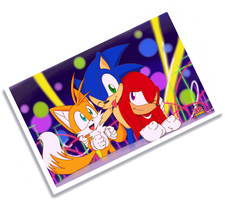 Together :: Sonic 20th by RiotaiPrower