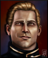 Portrait of the Commander by AuriV1