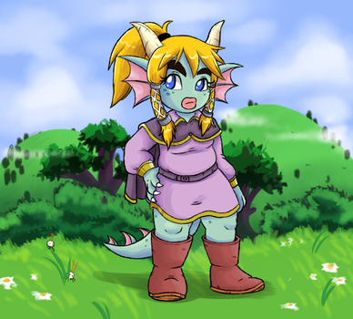 Sheila In The Fields by thirsty-pocket