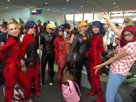 AX 2016 - Miraculous Ladybug Group Cosplay by SpaceStation91