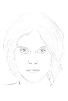 Ville Valo - A First Sketch by xemoxomegax
