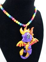 Classic Spyro Necklace by DragonCid