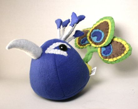 Percy the Peacock Plushie by Saint-Angel