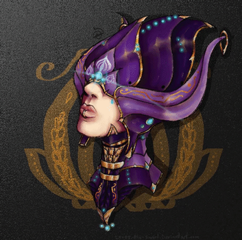 GIF of the lotus. by cross-the-swirl