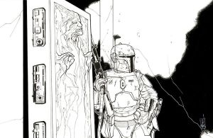 Boba and his Bounty by Hodges-Art