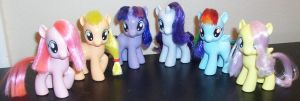 Custom Filly Brushables by Gryphyn-Bloodheart
