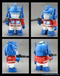 Optimus Prime custom munny by FlyingSciurus