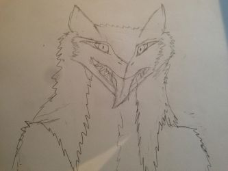 Sergal Front View sketch by Vincent-Wullf