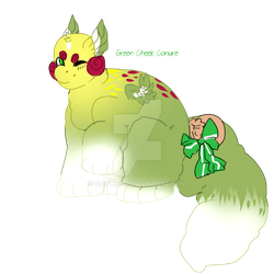 Dumpling Adopt] Green Cheek Conure by cactiss on DeviantArt