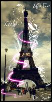 Eiffel Tower Colorfull by drsucks
