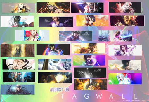 August Tag Wall 08 by justfollowlm