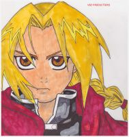 The Full Metal Alchemist by vctoriabb2