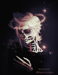 Day of the Dead Prompto ver. 3 by Numinoceur