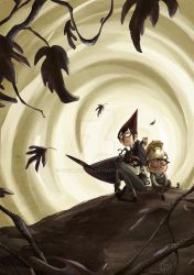 Over the garden wall _ Wirt Greg and Beatrice by GretaGreta