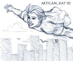 Artslam: Muse Day 10 by KabochaN