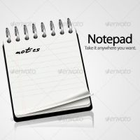 Notepad icon by benedik