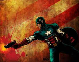 Captain America - The Real American Hero by daxxbondoc