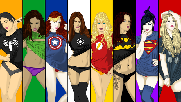 Superbabes by someone-stupid
