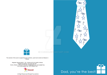 Father's Day Postcard by pagz3d