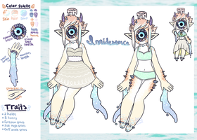 [ Irridesence Ref Sheet ] by hello-planet-chan