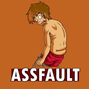 ASSFAULT by kcday
