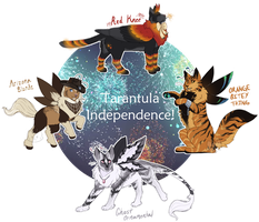 [Guest Auction - Closed] Tarantula Independence! by Arquerite