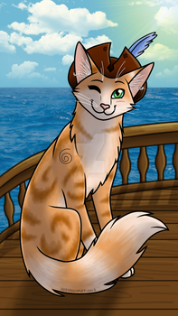 The Pirate Cat! by Indianimations