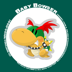 Baby Bowser by SynDuo