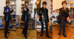 Ninth Doctor cosplay by PilarErika