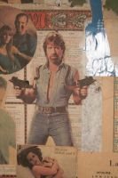 Chuck Norris Poster Cut-Out by ionindigo