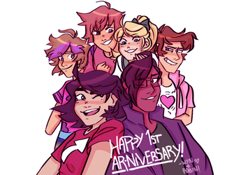 HAPPY AR-NIVERSARY!! by rozemond