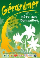 Affiche jonquilles 4th style by jypdesign