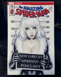 Black Cat Mugshot by WarrenLouw