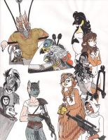 Mad Possum: Mad Max Fury Road by 13foxywolf666