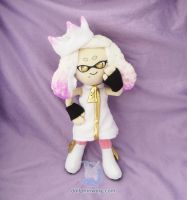 Splatoon 2 Pearl Plush Doll by dollphinwing