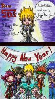 Happy New Year -YGO 5Ds- by XxSaorixX