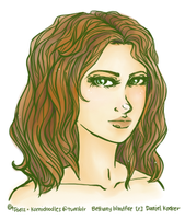 [first draft] bethany windfire by kamidoodles