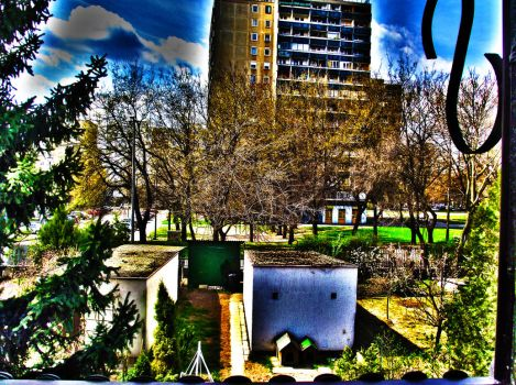 Excessive HDR of my area by ToXiN-1337