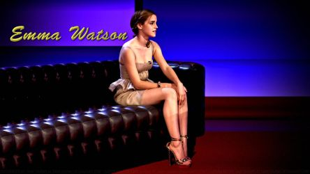 Emma Watson Friday Night Live by Dave-Daring