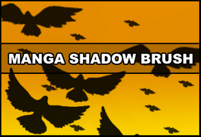 Manga Shadow brush by Faeth-design