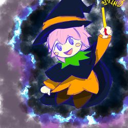 Witch Ribbon by Sir440