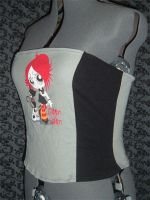 Ruby Gloom Corset Top by crafterbynite