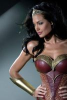 Angelina Jolie - Megan Gale Wonder Woman style by jmurdoch